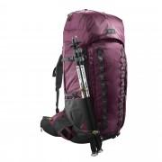FORCLAZ Mochila de Montaña y Trekking, Trek900, 70+10L, Funda Impermeable, Mujer