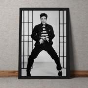 Quadro Decorativo Elvis Sensual 35x25