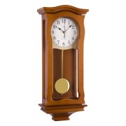Kyvadlové skříňové rádiem řízené dřevěné hodiny JVD NR2219/41