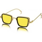CD EYEWEAR Rectangular Sunglasses(Yellow)