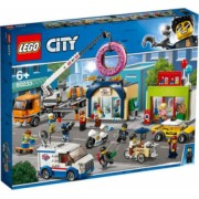 LEGO City Deschiderea magazinului de gogosi No. 60233