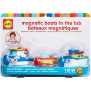 Set 3 barci magnetice pentru vana - AlexToys (AX823W-5)