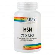 Secom MSM 750mg, 90 capsule
