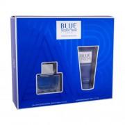 Antonio Banderas Blue Seduction For Men set cadou EDT 50 ml + Balsam dupa barbierit 50 ml pentru bărbați