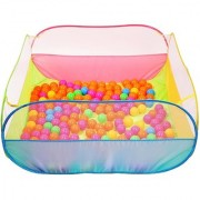 SHRIBOSSJI MY BALL POOL WITH 50 POOL BALLS FOR KIDS/CHILDREN WITH BEST QUALITY EVER(MULTICOLOR)