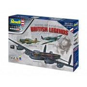 Revell 100 Years RAF: Gift Set Flying Legends repülőgép makett 5696