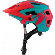 Oneal Defender 2.0 Silver Casco de bicicleta Rojo Verde L XL