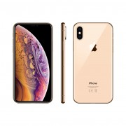 Apple iPhone XS 64GB Dual sim (nano-SIM & eSIM) A1920 With Generic Tempered Glass Screen Protector- Gold