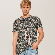 House - T-shirt z nadrukiem all over - Wielobarwn