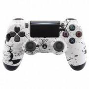 Controller Splashing White Wireless Dualshock 4 V2 pentru Playstation 4