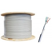 305 Meter CAT6 Roll Pure Copper STP Ethernet Cable for Gigabit Networks