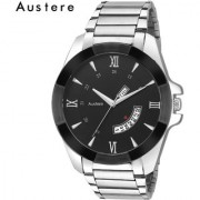 Austere Williams Black Dial Men Watch (MW-020702)