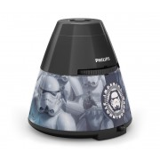 Philips 71769/99/16 - Lampa copii DISNEY STAR WARS STORMTROOPER LED/0,1W/3xAA
