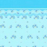 Blanco Lara Lenzuola Matrimoniali Completo Letto In Flanella 100% Cotone Set: Lenzuolo Sopra 240x280 Cm / Lenzuolo Con Angoli Elasticizzati 170x190 Cm / 2 Federe 50x80 Cm Colore Celeste - Lara