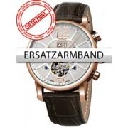 Curea de ceas Perigaum Leder P-1111 braun ohne Schliesse 24 mm