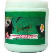 Indrani Herbal Nourishing Massage Cream With Vitamin E Oil 500 gm