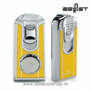 Set Egoist Cigar Smoking Yellow bricheta si cutter