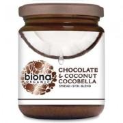 Unt de cocos cu ciocolata CocoBella bio 250g