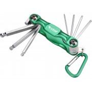 Комплект имбусни ключове 7бр., 1,5-6mm, 66006, EXTOL