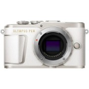 Aparat Foto Mirrorless Olympus PEN E-PL9, Body, 16.1 MP, Filmare Full HD (Alb)