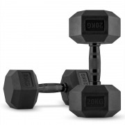 CAPITAL SPORTS Hexbell Dumbbell Paire d'haltères courts 2 x 20 kg