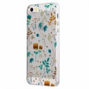 Husa Silicon Transparent Slim Spring Apple iPhone 5 5S SE