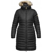 FjallRaven Ovik Down Parka W - Black - Down Coats XS