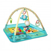 Bright starts - 11154 – Salteluta de activitati cu bile 'More-in-One Ball Pit Fun'