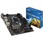 MSI B250M PRO-VDH Moederbord Socket Intel® 1151 Vormfactor Mini-ATX Moederbord chipset Intel® B250