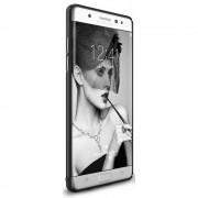 Husa Samsung Galaxy Note 7 Fan Edition Ringke Slim BLACK + Bonus folie Ringke Invisible Screen Defender