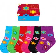Socks - Tippy Toes - Flower Power