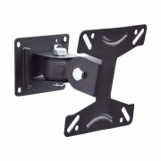 GoodsBazaarUniversal LCD LED TVs Wall Stand 14 to 24 180 degree rotation Bracket Tilt TV Mount Full Motion TV Mount