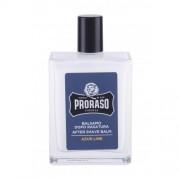 PRORASO Azur Lime After Shave Balm 100 ml balzam po holení s vôňou citrusov a borievok pre mužov
