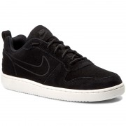 Обувки NIKE - Court Borough Low Prem 844881 007 Black/Black/Sail