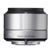 Sigma Obiettivo 19mm F 2.8 Dn (a) Art Silver X Sony E-mount