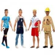 Кукла Barbie - Кукла Кен с професия, налични 4 модела, 1710120