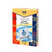 Sac aspirator pentru Zelmer, sintetic, 4 saci + 1 filtru, KM