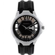 LAURELS Invictus Series Black Color Men Watch (LO-INC-502)