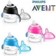 Philips AVENT Cana transparenta 6 luni 200 ml