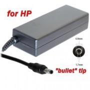 Захранване (заместител) за лаптопи HP, 19V/4.74A/90W, жак (4.8 x 1.7)