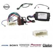 COMMANDE VOLANT Nissan 370Z (Avec Ampli) Pour CLARION complet avec interface specifique