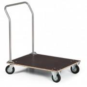 B2B Partner Plattenwagen, ladefläche aus wasserfestem sperrholz, 800 x 600 mm