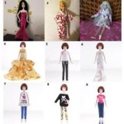 """Alcoa Prime Trendy Doll Clothes Set for Barbie 12"""" BJD Dolls Dress Up Kids Role Play Toy"""