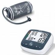 Апарат за измерване на кръвно налягане с маншон Beurer BM 40 с адаптор за ток