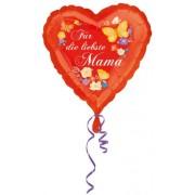 Boldog anyák napját fólia lufi szív 43cm
