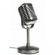 Микрофон TRUST Elvii Vintage Microphone for PC and laptop, Сребрист, 21670