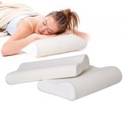 Perna Ortopedica din Spuma cu Memorie, Ideala pentru Somn si Relaxare