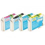 ColorPack für Epson (ersetzt T1285), black/cyan/magenta/yellow | Multipacks Kompatible Druckerpatronen Für Epson Tintenstrahldrucker