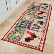 Kitchen Mat Hen Pattern by Coopers of Stortford
