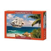 Puzzle Sailing in the Tropics, 1000 piese